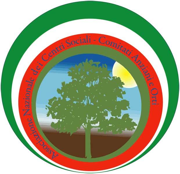 Logo Associazione Nazionale dei Centri Sociali-Comitati Anziani e Orti