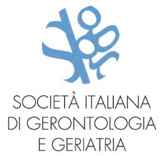 Logo della Società Italiana di Gerontologia e Geriatria